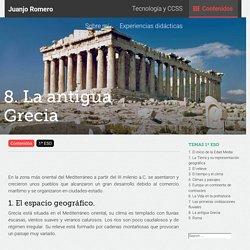 8. La antigua Grecia
