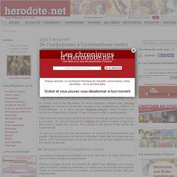 1492 à nos jours - De l'antijudaïsme à l'antisémitisme (suite) - Herodote.net