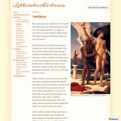 Antiken - Litteraturhistoria