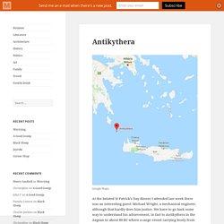 Antikythera -