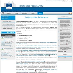 EUROPE - JUIN 2016 - Eurobarometer results on Antimicrobial Resistance awareness