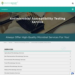Antimicrobial Susceptibility Testing Service - Microbe