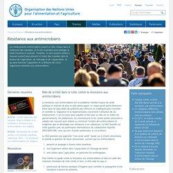 FAO - MARS 2015 - Rôle de la FAO dans la lutte contre la résistance aux antimicrobiens