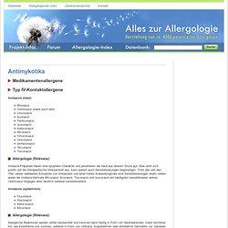 Allergen Antimykotika Allergie natamycin Allergologie