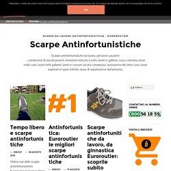 scarpe antinfortunistiche - scarpe da lavoro - Euroroutier