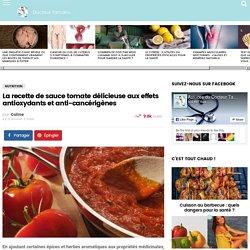 La recette de sauce tomate délicieuse aux effets antioxydants et anti-cancérigènes - Docteur Tamalou