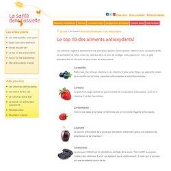 Aliments antioxydants: liste des 10 meilleurs aliments naturels riches en antioxydants