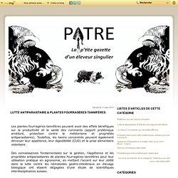 Lutte antiparasitaire & Plantes fourragères tannifères - Pâtre