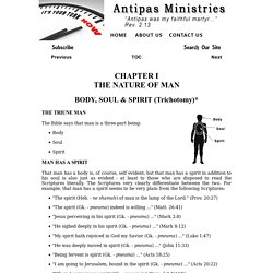 Antipas Papers/Chapter I - By S.R. Shearer