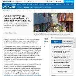 Víctimas de minas antipersona: testimonios de un soldado, campesino y expara - Medellín
