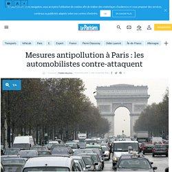 Mesures antipollution à Paris : les automobilistes contre-attaquent - Le Parisien