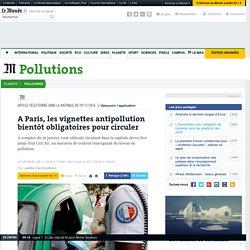 A Paris, les vignettes antipollution bientôt obligatoires pour circuler