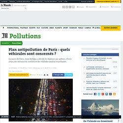 Plan antipollution de Paris : quels véhicules sont concernés ?