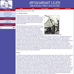E.L. Lilien - Kurze Lebensbeschreibung