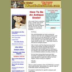 Antiques, Collectibles and eBay Tips