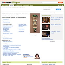 Antique & Collectible Jewelry Price and Value Guides - Online Price and Value Guides for Antique & Collectible Jewelry
