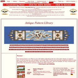 Antique Pattern Library Antique Pattern Library