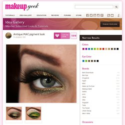 Antique MAC pigment look | Idea Gallery