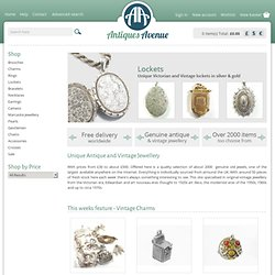 Vintage Jewellery and Antique Jewellery - Vintage Jewellery and Antique Jewellery