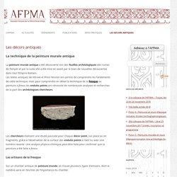 AFPMA-Association francaise pour la peinture murale antique
