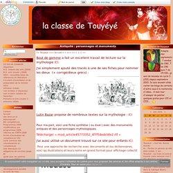 Antiquité : personnages et monuments - la classe de Touyéyé