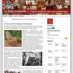 Le Blogue antiquités: Le bois courbé: technique de fabrication
