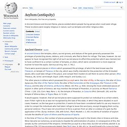 Asylum (antiquity)