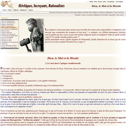Contre les religions, antireligions et atheisme contre le christianisme, morale, eglise, peches