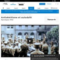 Antisémitisme et autodafé