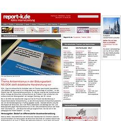 Thema Antisemitismus in der Bildungsarbeit: NS-DOK stellt didaktische Handreichung vor / Bildung / Wirtschaft / report-k.de