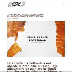 Du cuir réalisé à partir de déchets végétaux - VieVégane.ch - antispécisme, cause animale, recettes végétaliennes, santé, mode, sport, astuces