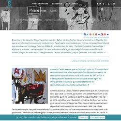 """Les Cahiers antispécistes : """"Sortir les animaux de la catégorie des marchandises"""" 2/2"""