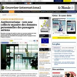 Antiterrorisme: vers une collecte massive des données personnelles des passagers aériens