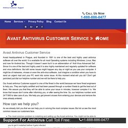 Avast Antivirus Customer Service