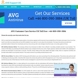 AVG Antivirus Helpline Phone 0800-090-3884 Support UK