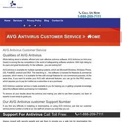 Avg Antivirus Helpline