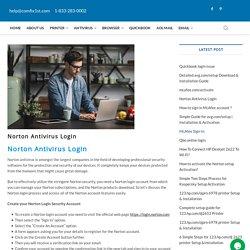 Norton Antivirus Login – Printer Setup