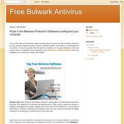 Free Bulwark Antivirus: Rope in the Malware Protection Software to safeguard your computer