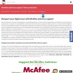 Mcafee Antivirus Support Australia