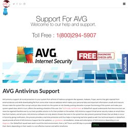 AVG Antivirus Support in USA by Dial toll free 1-800-294-5907