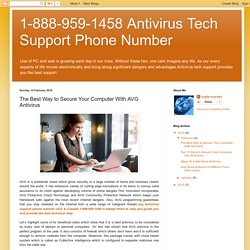 1-888-959-1458 Antivirus Tech Support Phone Number: The Best Way to Secure Your Computer With AVG Antivirus