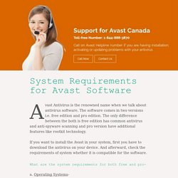 Avast Antivirus Support Helpline 1-844-888-3870