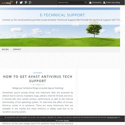 How to get Avast ANtivirus Tech Support - E-technical Support