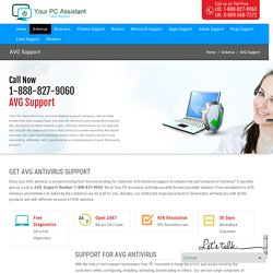 AVG Antivirus Support Number 1-888-827-9060