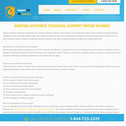 Norton Antivirus 1 844 723 2329 Technical Support Phone Number USA