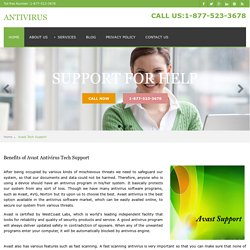 Avast Antivirus Technical Support Phone Number