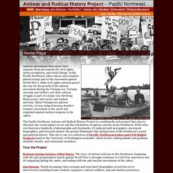 Antiwar and Radical History Project