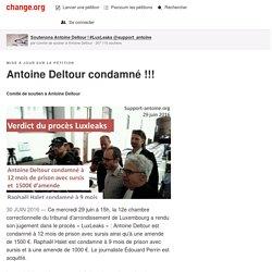 Antoine Deltour condamné !!!