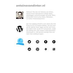 Antoine van Dinter: Frans & ICT