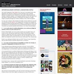 Antoine Gallimard s'oppose à l'iBookstore d'Apple